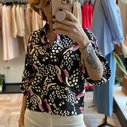 Camicia Fantasia in Fibra Naturale cod.MA1825