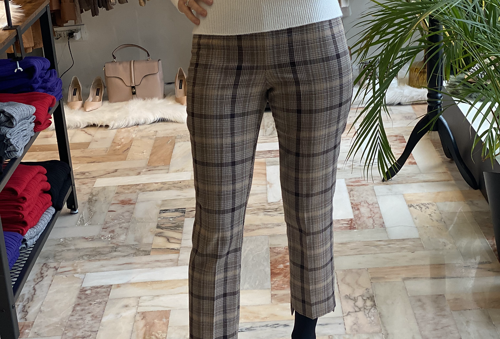 Pantalone stampa Check cod.KK164 - ULTIMO TG.40