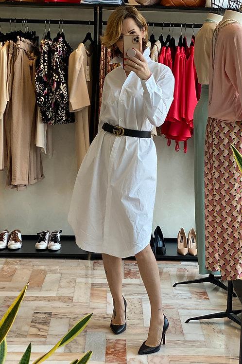 Camicia/Abito    Bianco  in Cotone cod.KKCF7