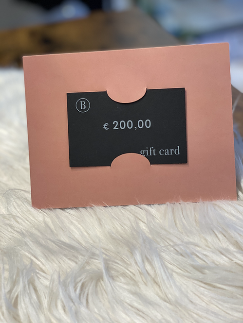 GIFT CARD - € 200