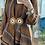 Thumbnail: Cintura CT2M  TABACCO con doppio medaglione -
