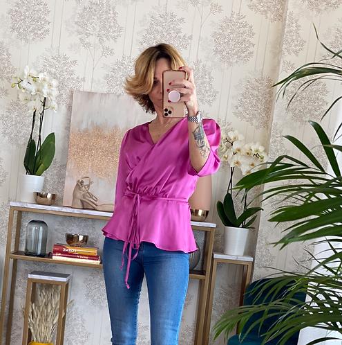 Blusa Kimono color Magenta cod.MA9004