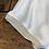 Thumbnail: Blusa Color Avorio  in Raso con bordo glitter oro cod. MD8094-in riassortimento