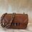 Thumbnail: Borsa Cioccolato Chanel Style Matelassé  in Pelle MISURA PICCOLA