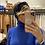 Thumbnail: Fascia Blu per capelli