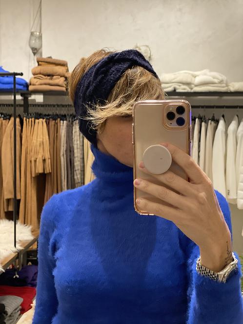 Fascia Blu per capelli