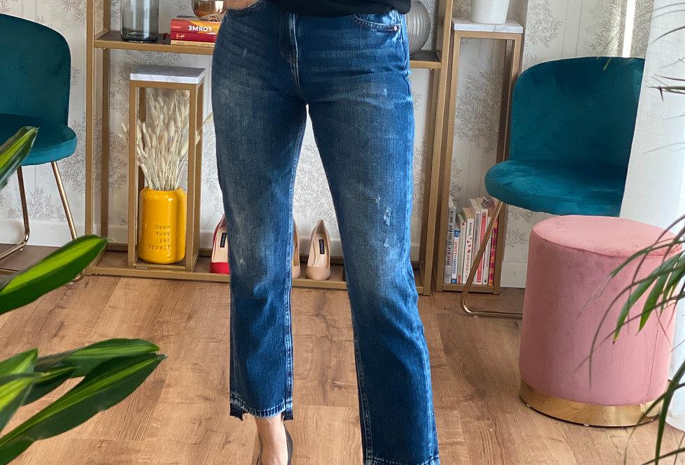 Jeans Girlfriend  sfrangiato  cod. G19 - ULTIMO TG.25