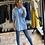 Thumbnail: Camicia Azzurra con taschino cod.X916