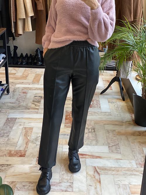 Pantalone in Ecopelle Nero Cod.KKC33