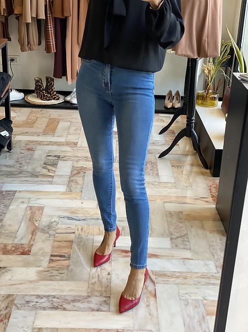 Jeans Skinny a vita alta MA8347