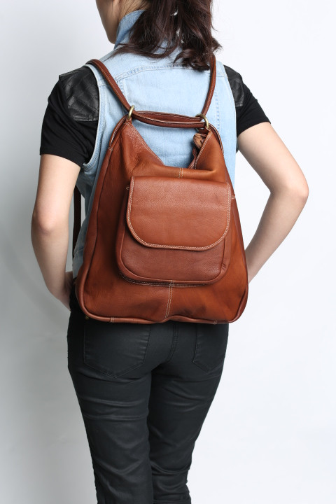 Fantastic WESTSIDE' LEATHER CONVERTIBLE BACKPACK | Handmade bags | Fredd and  TO67