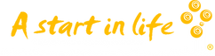 A Start in Life yellow logo transparent