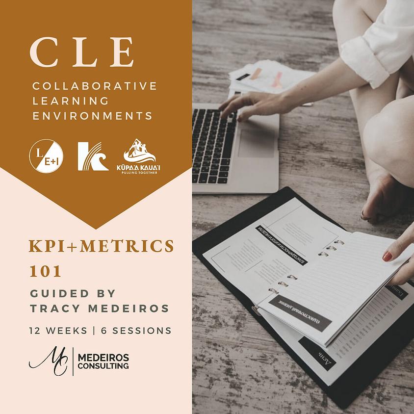 CLE |  KPI + Metrics Dashboard