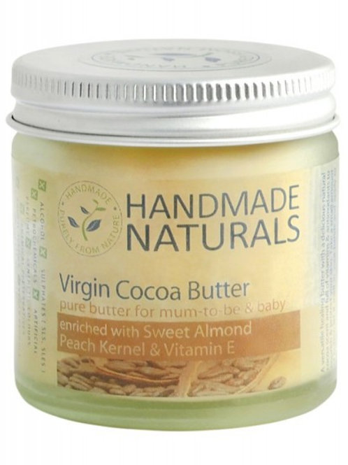 Virgin COCOA butter with SWEET ALMOND, PEACH KERNEL & VIT. E - 120 ml
