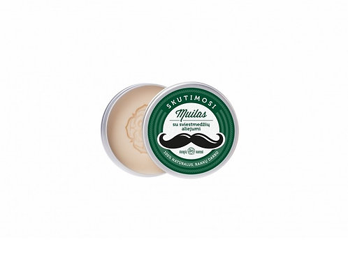 Shaving soap with SHEA BUTTER & COCONUT OIL - 70 ml