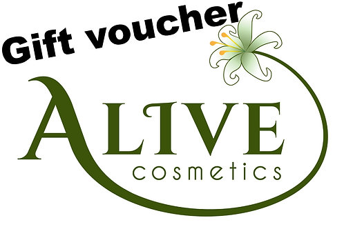 Gift voucher - ALIVE cosmetics products