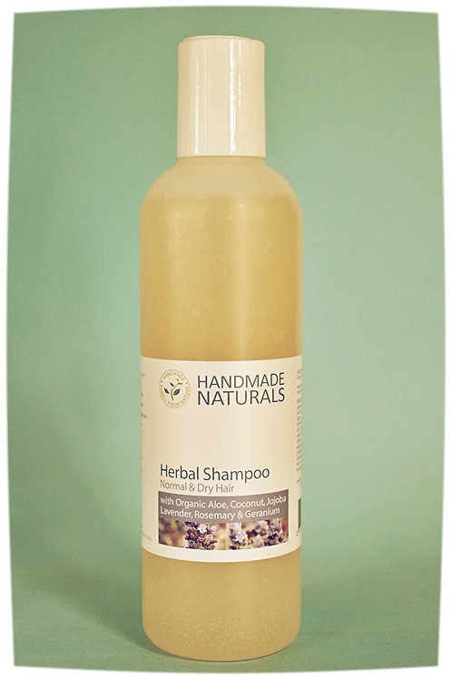 Herbal shampoo for normal/dry hair ALOE, COCO & JOJOBA - 125 ml