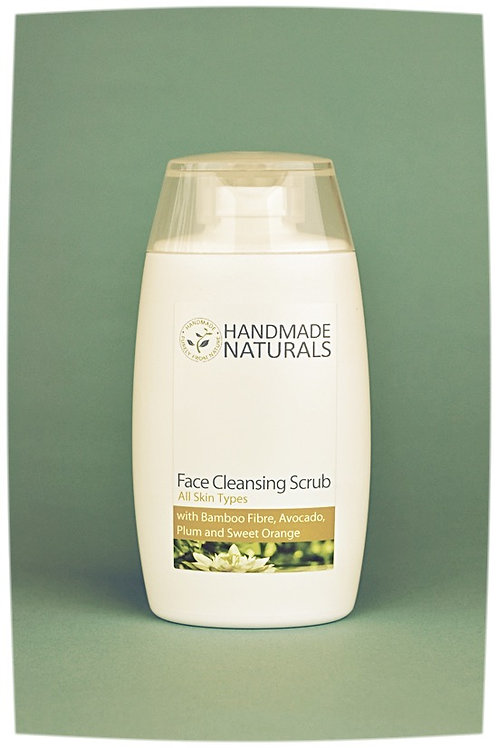 Face scrub BAMBOO, PLUM, AVOCADO & ORANGE - 100 ml