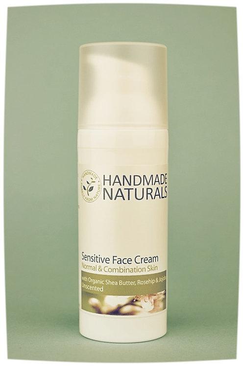 Sensitive face cream ROSEHIP, JOJOBA, PEACH & SHEA
