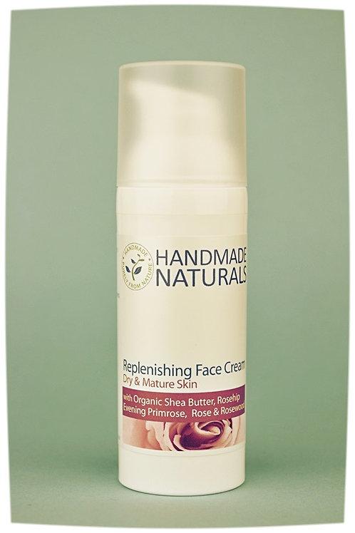 Replenishing face cream ROSE, ROSEHIP & PRIMROSE