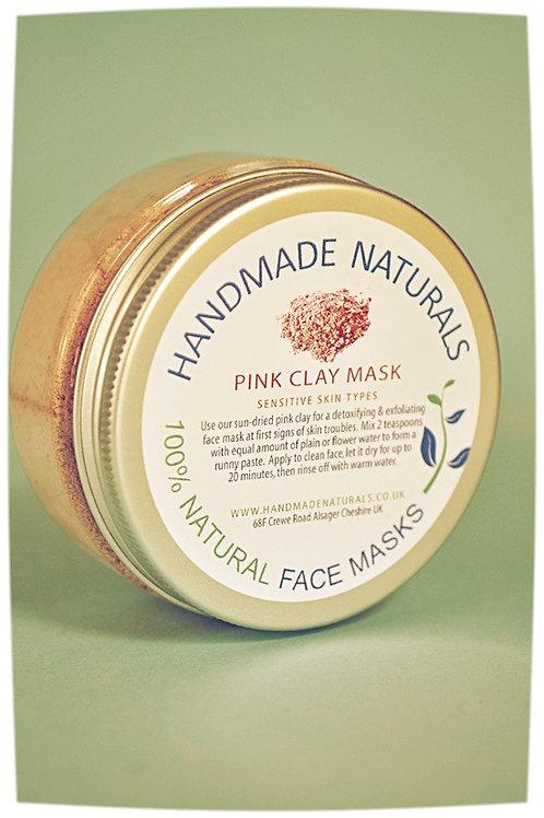 Detoxifying & exfoliating face mask PINK CLAY