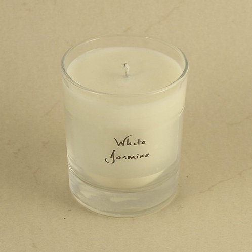 GLASS candles - 20 cl burn for +/- 50-60 hrs