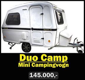 Mini Campingvogn Duo