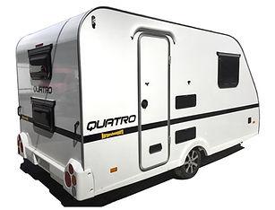Norgeshengern Quatro. Mini Campingvogn.