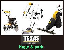 hage og park maskiner