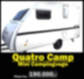 Mini Campingvogn Quatro