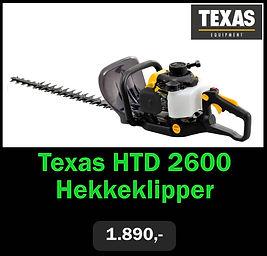 Texas HTD 2600 Hekkeklipper