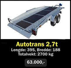 Norgeshengern Autotrans 2,7t
