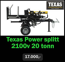Texas Power Splitt 2100v 20 tonn