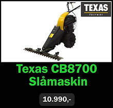 Texas CB8700 Slåmaskin