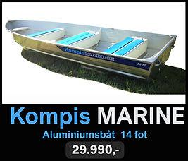 Kompis Marine 14 Fot Aluminiumsbåt