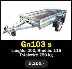 Norgeshengern gn103 s