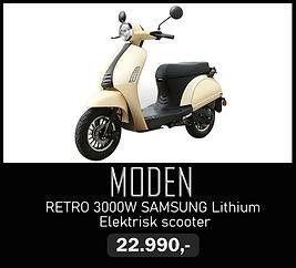 Elektrisk moped Moden