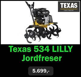 Texas 534 LILLY Jordfreser