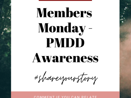 PMDD Warrior  - A peek inside the window of a truly awful disease. By Jessica Larsson