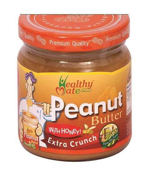 Healthy Mate 蜂蜜花生醬(含顆粒)