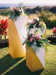 Ceremony Pillars