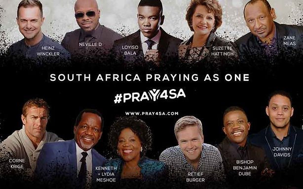 pray4sa | Pray for South Africa | Pray for SA | united together in a call for prayer | Benjamin Arde | Arc Church