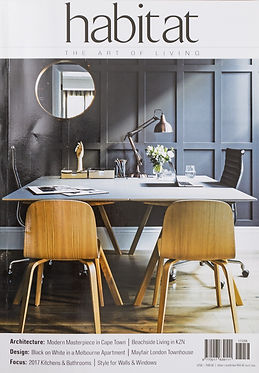 Habitat magazine | De Ville Cupboards + Joinery | Cape Town | Design and Manufacturing