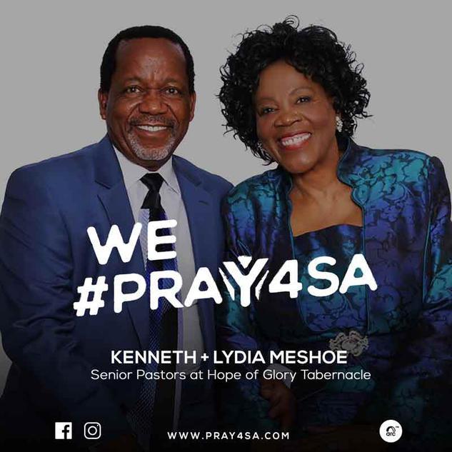 KENNETH + LYDIA MESHOE