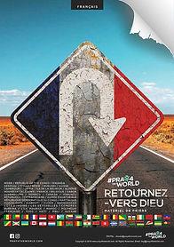 #PRAY4THEWORLD - MATÉRIEL DE PRIÈRE - RETOURNEZ-VERS DIEU - Français