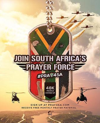 PRAY4SA MATERIAL POST - PRAYER FORCE - E