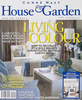 House & Garden magazine | De Ville Cupboards + Joinery | Cape Town | Design and Manufacturing