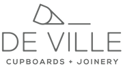 Logo | De Ville | Cupboards + Joinery | Joiners | Cape Town