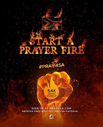 PRAY4SA MATERIAL POST - START A FIRE - E