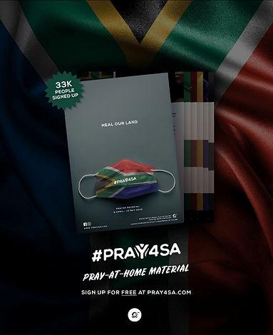 PRAY4SA-FREE-MATERIAL-HEAL OUR LAND PRAY
